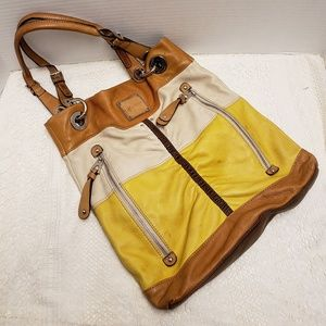 B MAKOWSKY Leather Shoulder Bag